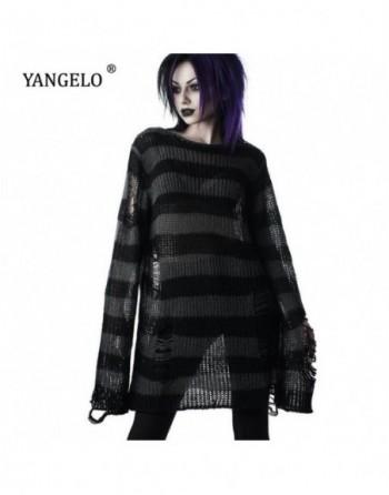 Pull Punk gothique Long Streetwear