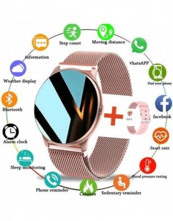 Montre connectée pour hommes et femmes, bracelet de Sport multifonctionnel, étanche, avec moniteur de fréquence cardiaque et de
