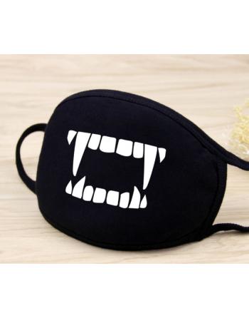 Masque Anti-Poussière Coton Croc de Vampire