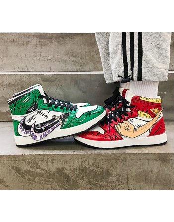 Chaussures One Piece Homme montante anime