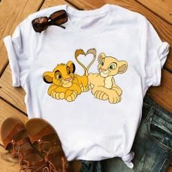 T-Shirt Roi Lion Coeur