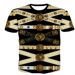 T-shirt Ceinture Golden art