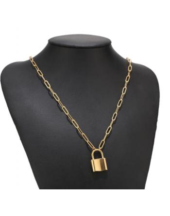 Collier cadenas Streetwear